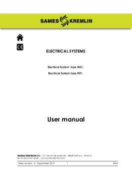 Electrical systems |User manual